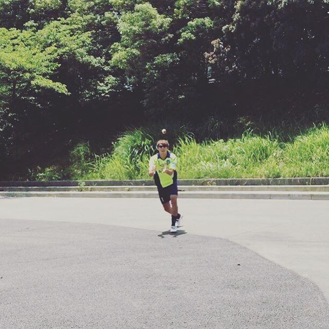 東口順昭選手(ガンバ大阪)がビジョナップで目のトレーニング