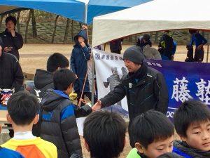 遠藤塾杯2017遠藤彰浩メインコーチによる表彰式