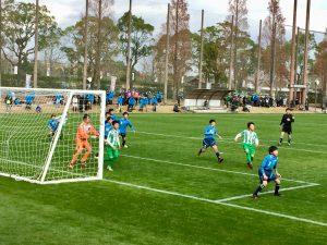 全国少年サッカー大会2017試合風景