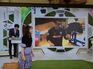 NHK BS スタジオでビジョナップのお試し2