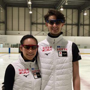 アイスダンス日本代表、小松原&コレト組