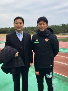 J1ベガルタ仙台 石野GKコーチと