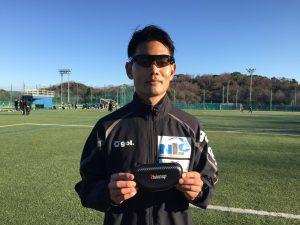 内田選手 with Visionup