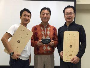 カイロプラティック機能神経学の江口先生と伊藤先生