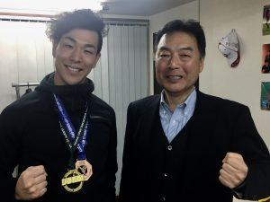 テコンドー栗山廣大選手