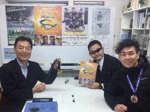 栗山廣大選手、平井俊佑先生